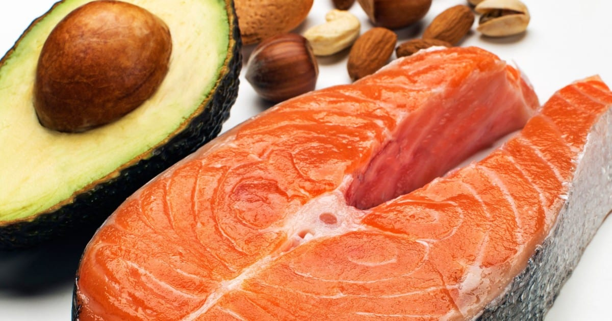 Different omega 3 rich foods on a spread