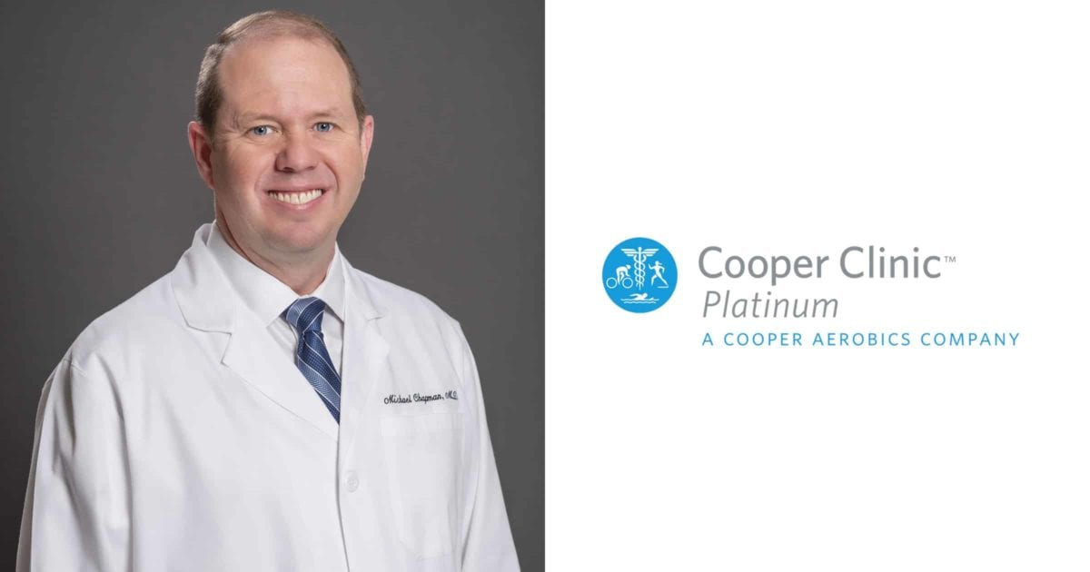 Dr. Chapman of Cooper Clinic