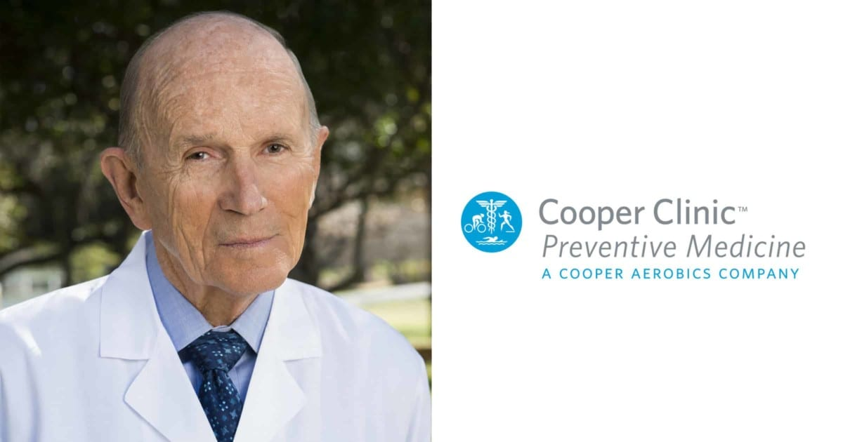 Photograph of Cooper Clinic Founder Dr. Kenneth Cooper