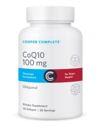 Cooper Complete CoQ10 100 mg Ubiquinol Bottle