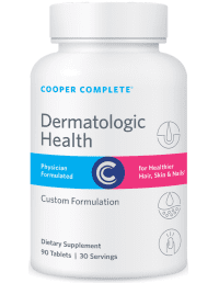 Cooper Complete Dermatologic Health Supplement Bottle