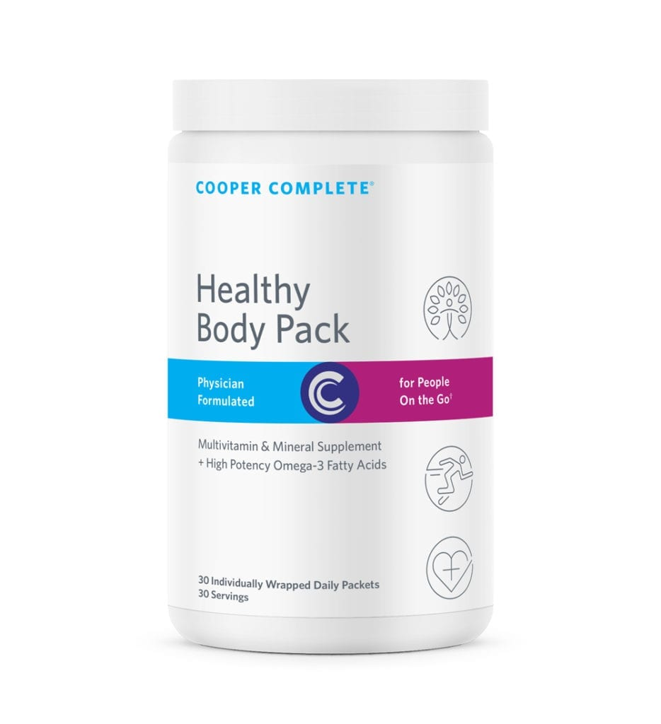 Cooper Complete Healthy Body Pack Supplement Canister