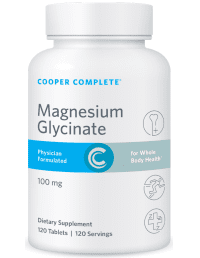 Cooper Complete Magnesium GlycinateSupplement Bottle
