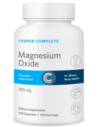 Cooper Complete Magnesium Oxide Supplement Bottle