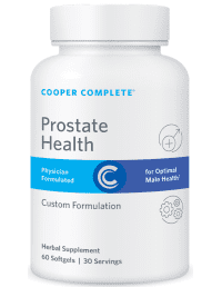 Cooper Complete Prostate Health Supplement Bottle
