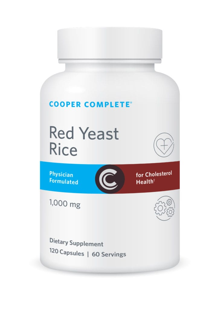 Cooper Complete Red Yeast Rice Supplement Bottle
