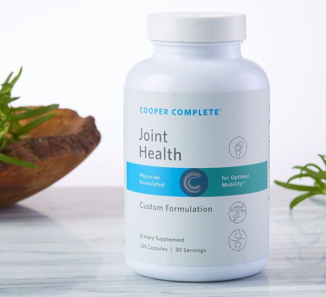 Cooper Complete has information on the Top 7 Health Benefits of Joint Health Supplements